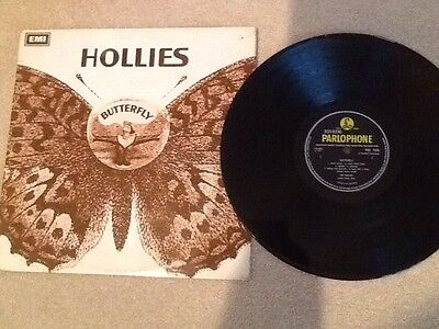 The Hollies~Butterfly Rare1967 Uk Vinyl Lp Pmc 7039   N.mint