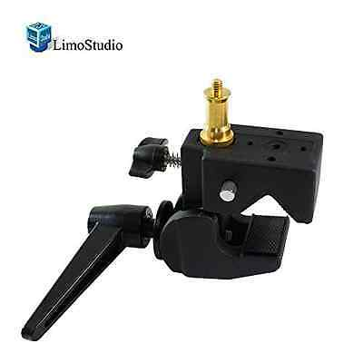 LimoStudio Super Clamp with Standard Stud for Photo Photography Studio, AGG1108
