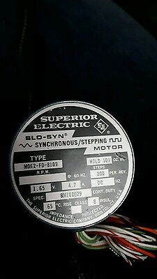 Superior Electric  Slo-Syn Stepping Motor M062-Fd-8109 New 180 Day