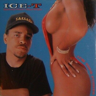 """Ice T I'M YOUR PUSHER 12"""" Vinyl record"""