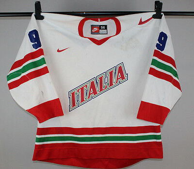 Team Italien - Italia 1997 - Game Worn Spielertrikot - #9 - Tackla - IIHF - XXL