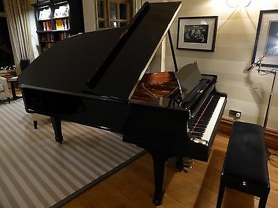 Steinway Model B Grand Piano, 1928 fully restored in black ebonised case