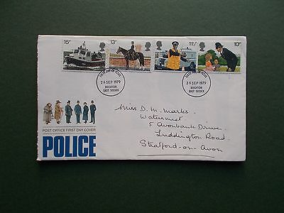 First Day Cover - Police1979