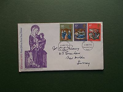 First Day Cover - Christmas 1970