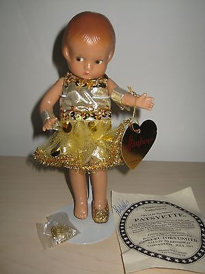 """Effanbee Patsyette """"We're In the Money"""" 9'' Doll MINT in Box REPRODUCTION DOLL"""