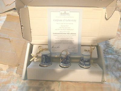 Rosenthal Traditional Christmas Bells   Yuletide/the First Noel/ Come Faithfull