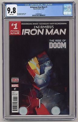 Infamous Iron Man #1 ~ CGC 9.8~ First Issue! ~ Marvel