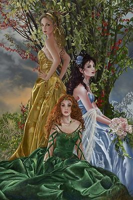 Nene Thomas Limited Edition Print  Signed Sisters of Illymar