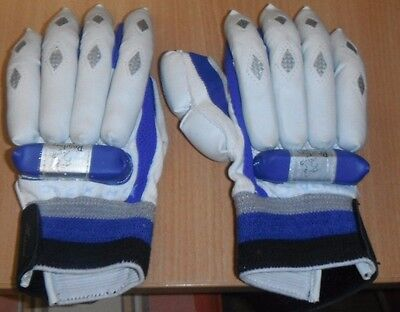 Readers Boys Right Hand Cricket Batting Gloves, Leather/pvc/cotton
