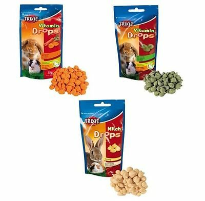 Pet Food Vitamin Treat Snack for Rabbits Guinea Pigs Rat Hamsters Mice - TRIXIE