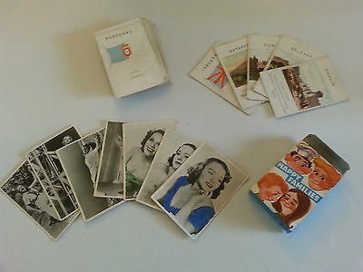 Vintage Cards : Happy Families, Modern Beauties & Flags & Cities Of Europe
