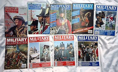 Military Illustrated Past And Present Magazine bundle 1989 - 1996 issues 20-95