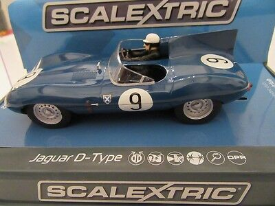 Scalextric car - C3730 Jaguar D Type - New and Boxed