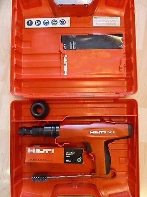 Hilti DX 2 Powder Actuated Fastening Nail Gun with Case