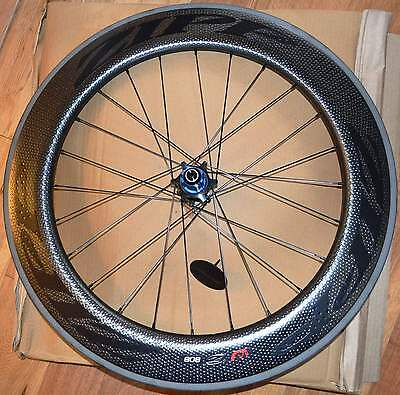 Zipp 808 Rear Wheel Firecrest Carbon Clincher 11 Speed Campagnolo Black Decal