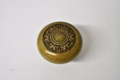 Antique Victorian Brass Single Door Knob Handle