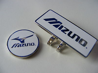 Mizuno magnetic golf ball marker with matching clip         .46