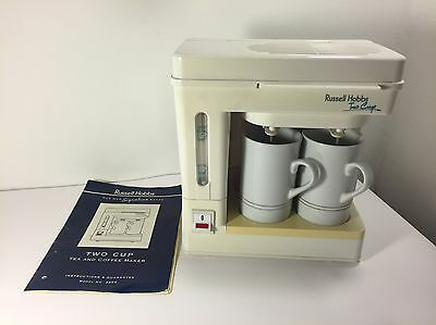Russell Hobbs Two Cup - Tea And Coffee Maker - Signature Range - Model 3354