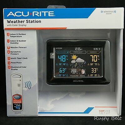 AcuRite 02027A1 Color Weather Station with Forecast/Temperature/Humidity