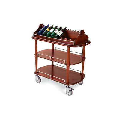"""Lakeside 70516 21-5/8""""Dx43-3/8""""Wx41-3/8""""H Spice Wine Cart"""