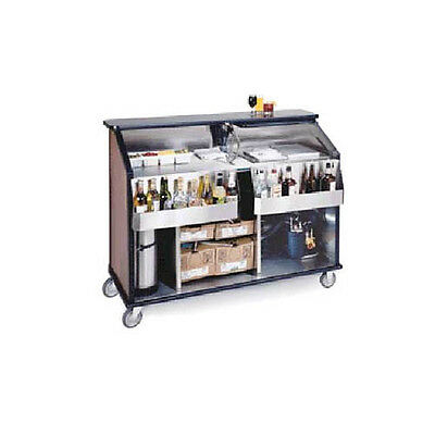 "Lakeside 889 62-1/2"" Portable Bar with Single Ice Bin and Cold Plate"