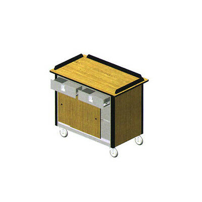 """Lakeside 690-20 44-1/2""""Wx24-1/2""""Dx37-3/4""""H Hydration/Nutrition Cart"""