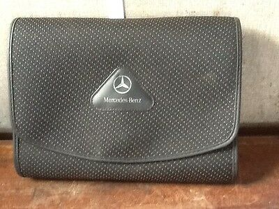 Mercedes C-Class W203, Owners Hand Books And Wallet.