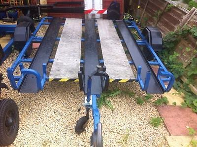 3 bike Motorcycle Trailer, Recently painted,