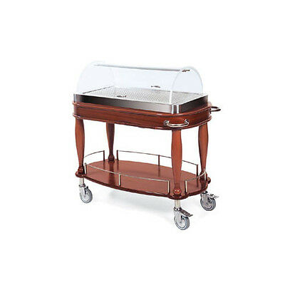 "Lakeside 70126 21-5/8""Dx43-3/8""Wx43""H Bordeaux Entrée Cart"