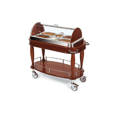 "Lakeside 70162 21-5/8""Dx43-3/8""Wx43""H Bordeaux Appetizer Cart"
