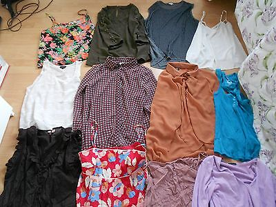 12 Ladies Tops and Dresses size 12 includes River Island,