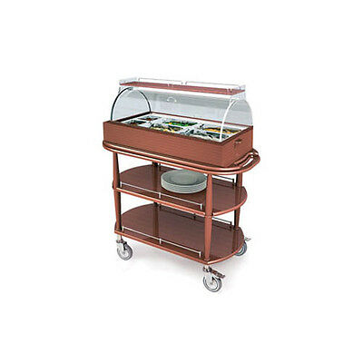 "Lakeside 70360 21-5/8""Dx43-3/8""Wx49-1/4""H Spice Appetizer Cart"