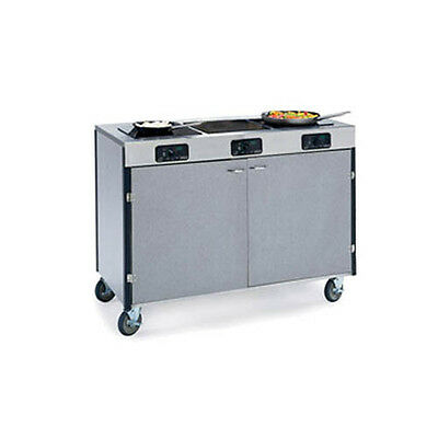 """Lakeside 2080 48""""x22""""x35-1/2"""" Creation Express Station Mobile Cooking Cart"""