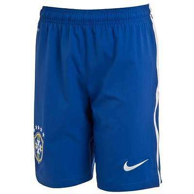 Nike Brazil 2014 Junior Home Shorts Size XL 158 - 170CM / 13 - 15 YEARS