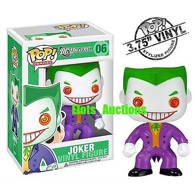 Funko Pop THE JOKER DC Comic Heroes Vinyl Figure New NIB