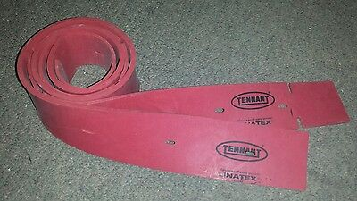 New 2 Genuine Tennant/Nobles  Squeegee Blades F.#1011232 R.# 1011456 (500mm)