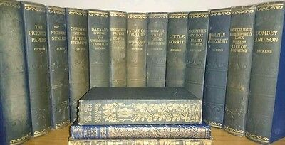 Vintage Handsome Charles Dickens collection books bundle job lot collection only