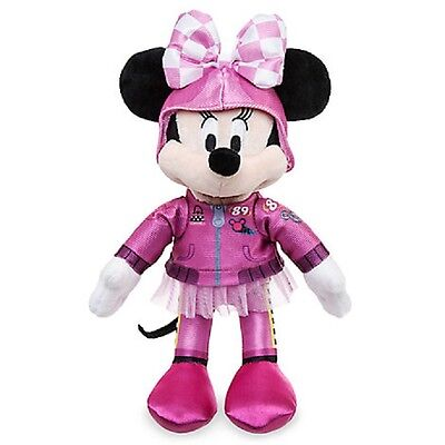 """Disney Store Mickey & The Roadster Racers Plush Minnie Mouse 10"""" Nwt"""