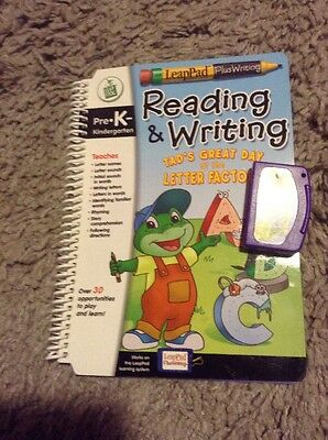 Leap Frog, Plus Writing Pre•K - Tad's Great Day at the Letter Factory,cartridge
