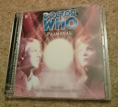 Doctor Who - Primeval - Big Finish audio drama CD #26 RARE, out of print