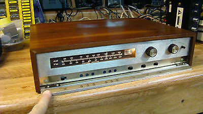 VINTAGE 1964 HEATHKIT AJ-33A AM FM Stereo  TUNER Works Nice AND  Serviced