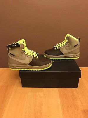 "Nike Lunar Force 1 ""Air Force 1"" Sneakerboot (GS) 6Y Rare $125 Duckboot OVO"
