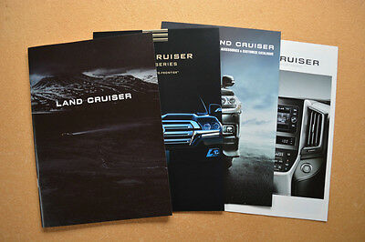 2017 Toyota Land Cruiser Brochure & Accessories Catalog Set Japanese JAOS TRD
