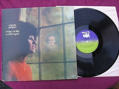 "Wanda Jackson "" Make Me Like A Child Again ""   12""  L.P. vinyl  record Iss' 1976"