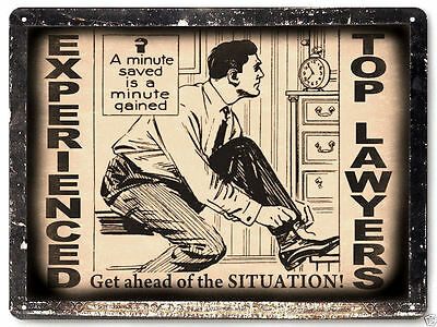 Lawyer/Attorney sign, vintage style, legal office decor