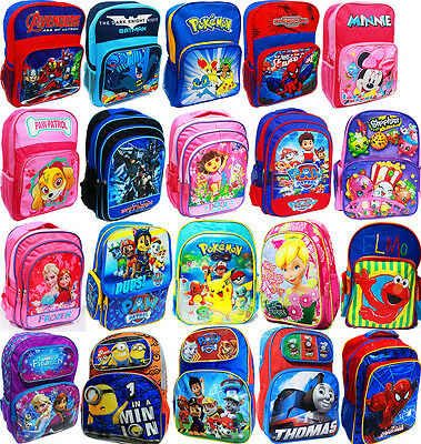 New Large Kids Backpack School Bags Children Boys Girls Gifts Picnic Paw Patrol