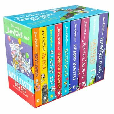 The World of David Walliams The Biggest Box Set 8 Books Collection