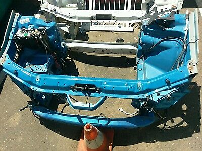 Ford falcon ba bf xr6 front cut radiator support panel