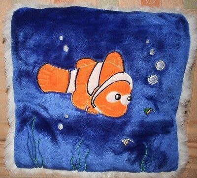 Finding Nemo Plush Square Throw Pillow Stadium Seat Cushion 17 X 17 - Perfect!