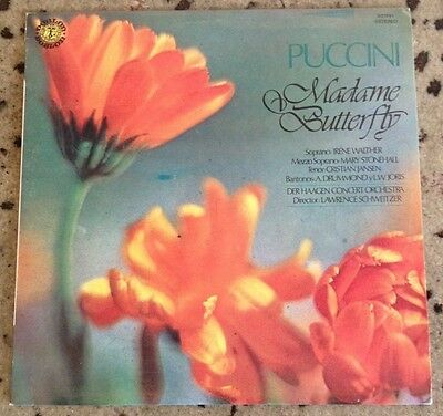 "PUCCINI ""Madame Butterfly"" LP Vinilo"